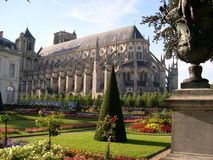Saint Etienne, Bourges. France. Gothic Saint Etienne cathedral in Bourges, France Stock Photos