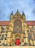 Saint Etienne Cathedral dans Sens - France Photo stock