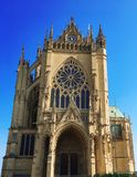 Saint Etienne Cathedral, Metz, Lorraine, France, l'Europe Photos stock