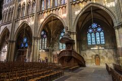 Free Saint Etienne Cathedrale Or Cathedral Of Saint Stephen In Metz, Lorraine, France Royalty Free Stock Image - 178824856