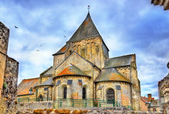 Saint Etienne Church of Villandry, France Royalty Free Stock Images