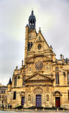 Saint-Etienne-du-Mont, a church in Paris Royalty Free Stock Photos