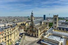 Saint-Etienne-du-Mont Church - Paris, France Stock Images