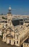 The Saint Etienne du Mont church , Paris, France. Royalty Free Stock Photography
