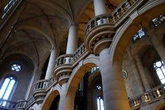 Saint Etienne du Mont Church, Paris. Interior the Saint Etienne du Mont Church, Paris, France stock image