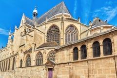 Saint-Etienne-du-Mont est une église à Paris Images stock