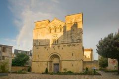 Saint-Etiennekirche in Nevers Lizenzfreie Stockbilder
