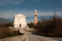 Saint Eulaia Church - Borso del Grappa Royalty Free Stock Photo