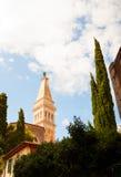 Saint Euphemia's basilica, Rovinj Stock Photos