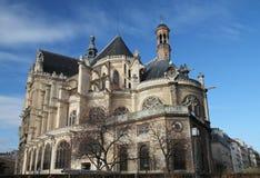 Saint-Eustache church Stock Photo