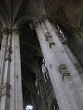 Saint Eustache church details Royalty Free Stock Photo