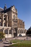 Saint Eustache church, Les Halles, Paris Royalty Free Stock Images