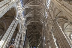 Saint Eustache Church, Paris, France Royalty Free Stock Image