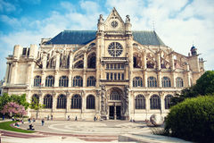 Saint-Eustache church in Paris Stock Images