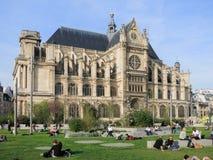 Saint-Eustache church, Paris Royalty Free Stock Photo