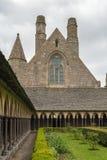 saint för abbeyfrance michel mont Fotografering för Bildbyråer