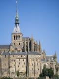 saint för abbeyfrance michel mont Royaltyfria Foton
