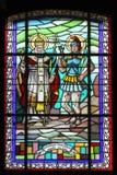 Saint Fabian and Saint Sebastian Stock Images