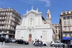 Saint Ferreols church in Marseille, France. Stock Photos