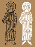 Saint figures Stock Photography