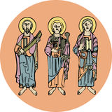 Saint figures Royalty Free Stock Photos