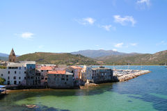 Saint Florent. Royalty Free Stock Images