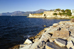 Saint -Florent, Corsica Stock Photo