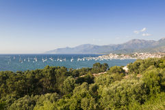 Saint-Florent Corsica Royalty Free Stock Photo