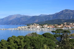 Saint Florent on  Corsica Island, France Stock Images