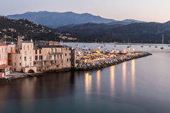 Saint Florent in Corsica Royalty Free Stock Image