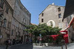 Free Saint Florent, San Fiorenzo, Skyline, Alleys, Haute-Corse, Corsica, France, Island, Europe Stock Photography - 103957902