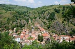 Saint Floret , France. Historical village Saint Floret in Auvergne, France Stock Images