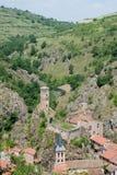 Saint Floret. Historical village Saint Floret in Auvergne, France Stock Images