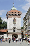 Saint Florian's Gate of Krakow in Poland Royalty Free Stock Image