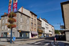 Saint Flour, Cantal, France Stock Photo