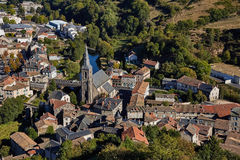 Saint Flour, Cantal, France Stock Photography