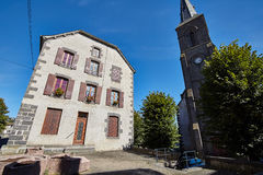 Saint Flour, Cantal, France Royalty Free Stock Photos