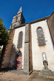 Saint Flour church, Cantal, France Stock Images