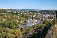 Saint Flour Panoramic view stock images