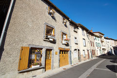 Saint Flour streets, Cantal, France Stock Image