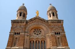 saint för basilicafrance raphael Arkivfoton