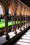 saint för cloistermichel mont Royaltyfri Foto