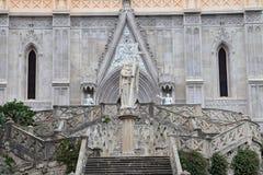 Saint Francesco Cathedral exterior. Gaeta Royalty Free Stock Photo