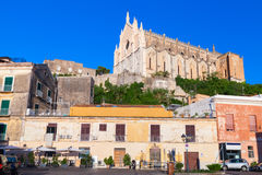 Saint Francesco Cathedral in old part of Gaeta Royalty Free Stock Image