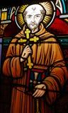 Saint Francis of Asisi stock photos