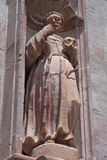 Saint Francis of Assisi. Statue Royalty Free Stock Photos