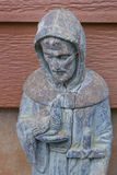 Saint Francis of Assisi. Garden Sulpture Stock Photography