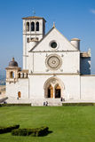 Saint Francis Basilica, Assisi Stock Images