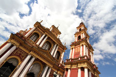 Saint Francis Church in Salta Royalty Free Stock Photography