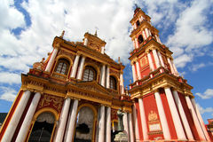 Saint Francis Church in Salta Stock Photo